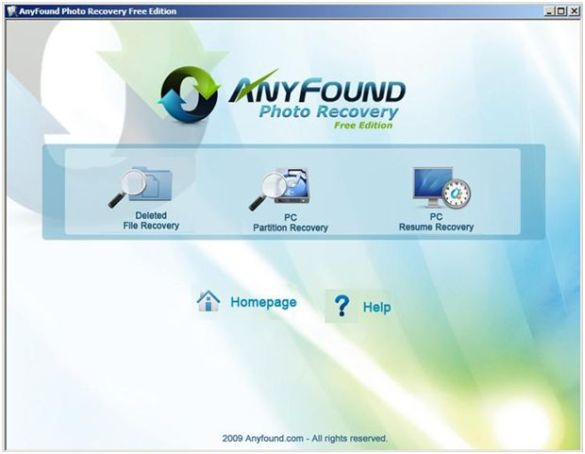 AnyFound Photo Recovery